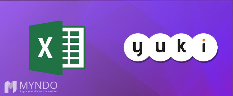 Excel naar Yuki koppeling